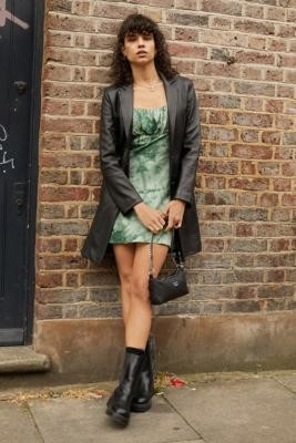 Urban Outfitters Archive Jesse Green Tea Dress - Green S at Urban Outfitters