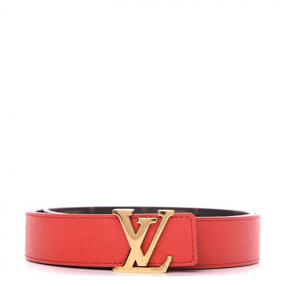 Monogram 30mm Louis Vuitton Initials Reversible Belt
