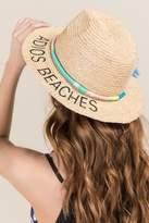 Francesca's Adios Beaches Panama Hat - Natural