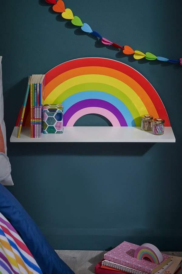 Next Rainbow Shelf - White