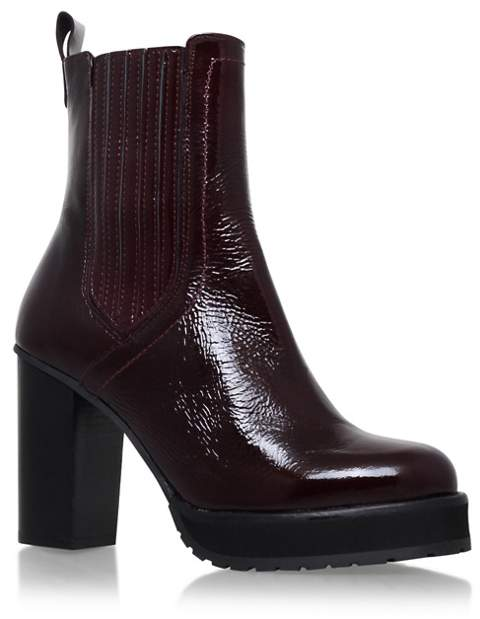 KG Kurt Geiger - Red 'Storm' High Heel Boots