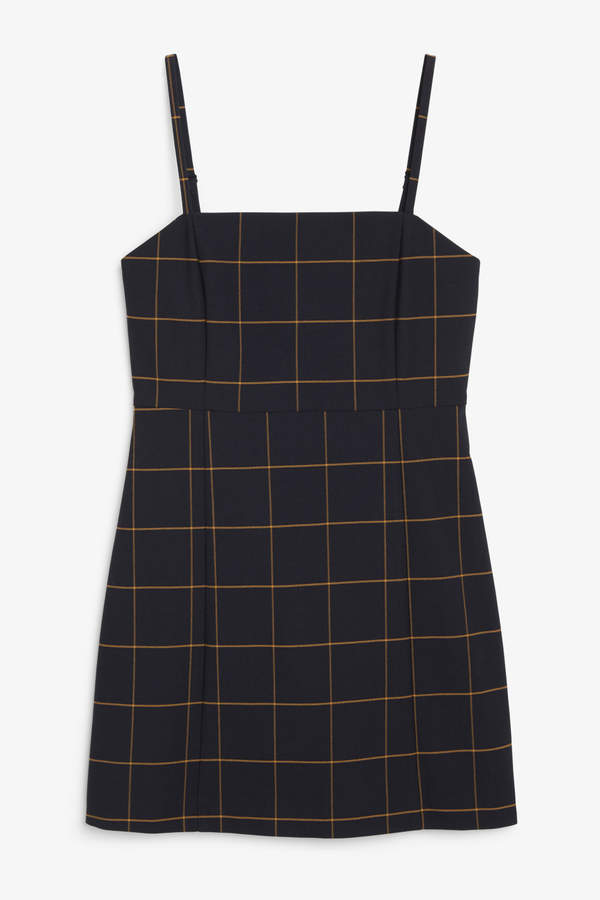 Spaghetti strap mini dress