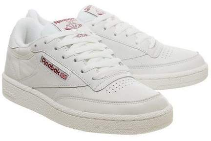 Womens **Reebok Club C 85 Trainers By Office