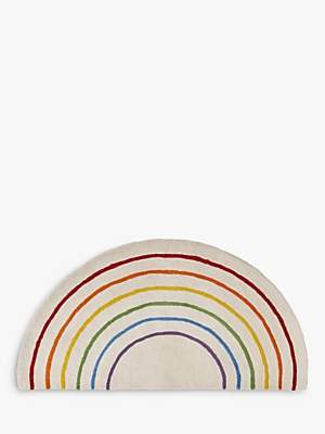 Great Little Trading Co Rainbow Rug, Multi, L60 x W120cm