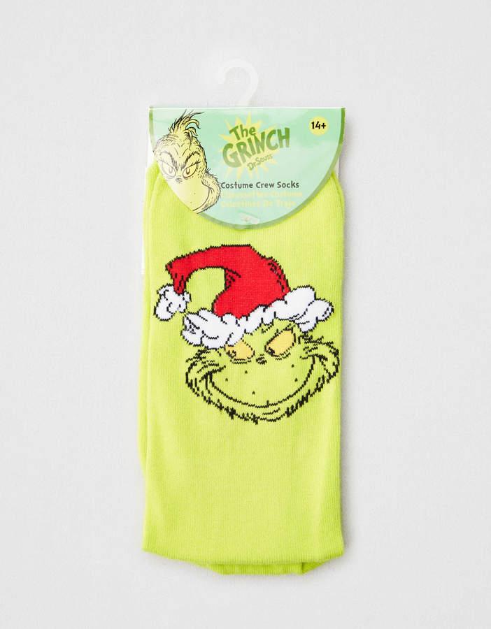 Elope Grinch Crew Socks