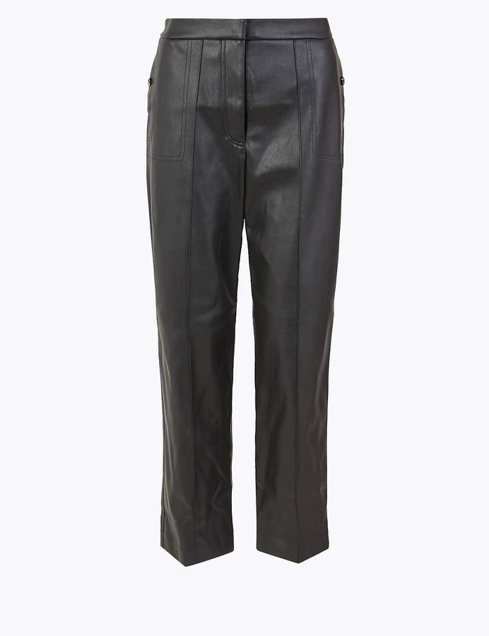 M&S CollectionMarks and Spencer Pintuck 7/8th Trousers