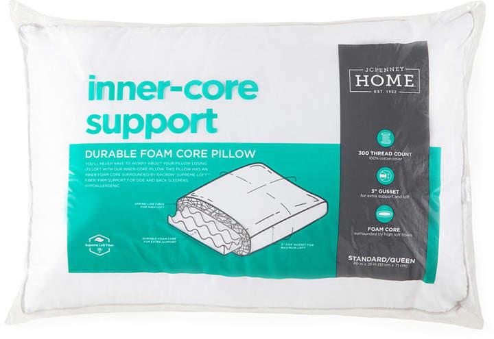 jcpenney latex foam pillow