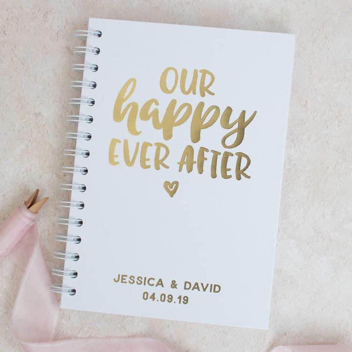 Nina Thomas Studio Happy Ever After Wedding Guest Book