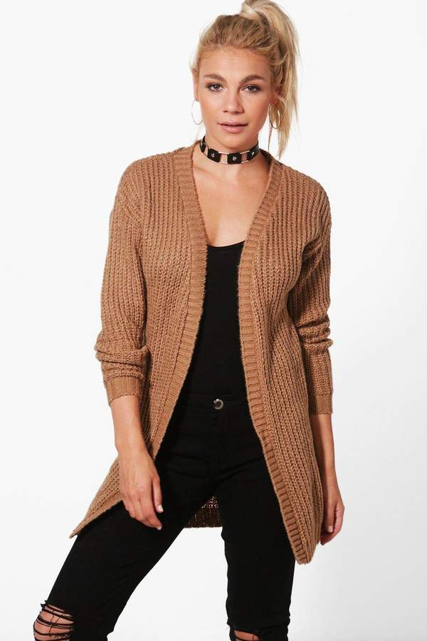 Long Edge To Edge Grungy Cardigan