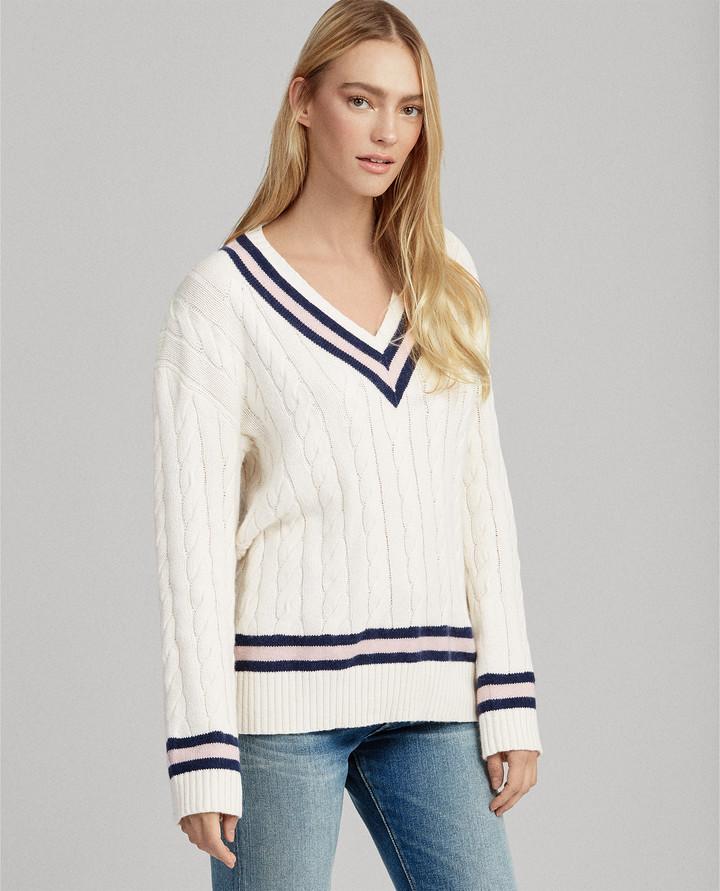 Pink Pony Cricket Sweater
