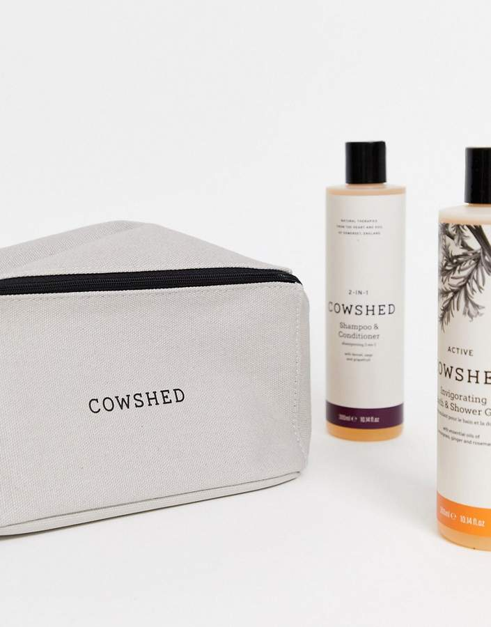 Cowshed Men's Shower Essentials Set Active-No Colour