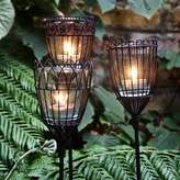 London Garden Trading Three Wire Tealight Garden Stakes
