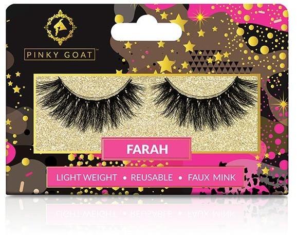 Pinky Goat Silk False Eyelashes - Farah