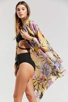 Out From Under Avery Wrap Neck Cover-Up Kimono