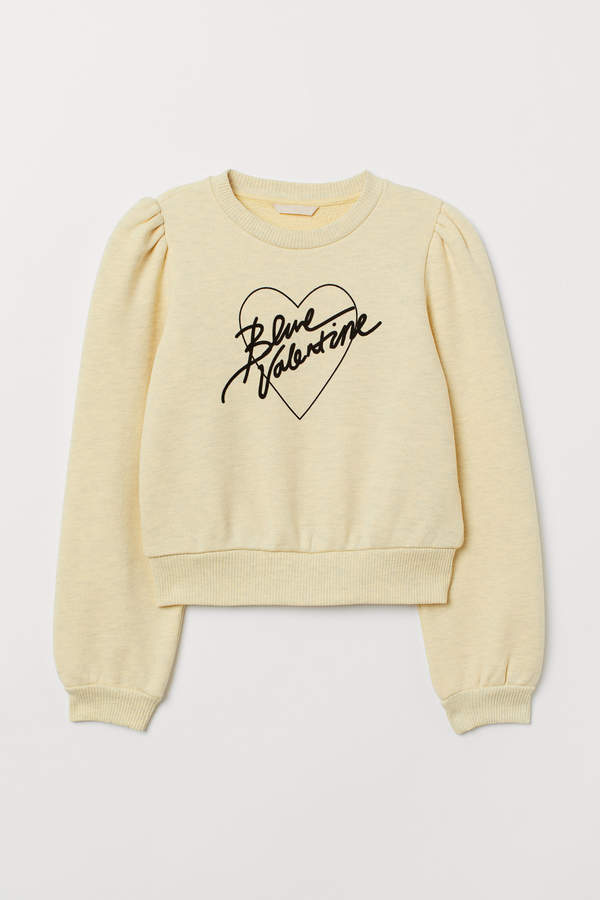 H&M Flock-print sweatshirt