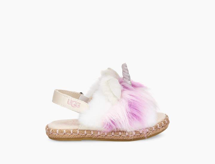 UGG Rainbow Unicorn Sandal