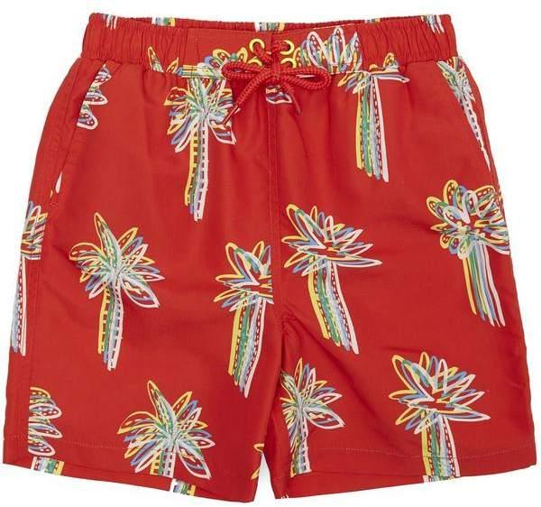Stella McCartney Kids Palm Swim Shorts 2-8 Years