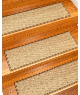Carpet Stair Treads Shopstyle   Mohawk Carpet Stair Treads   Mohawk Home   True Bullnose   Stair Railing   Basement Stairs   Non Slip
