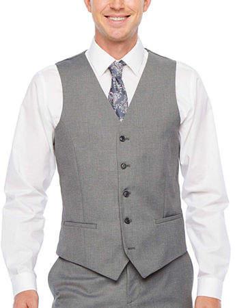 JF J.Ferrar Ultra Comfort Stretch Slim Fit Suit Vest