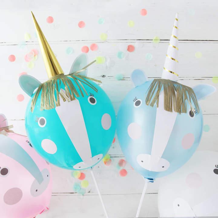 Postbox Party Unicorn Party Balloon Kit