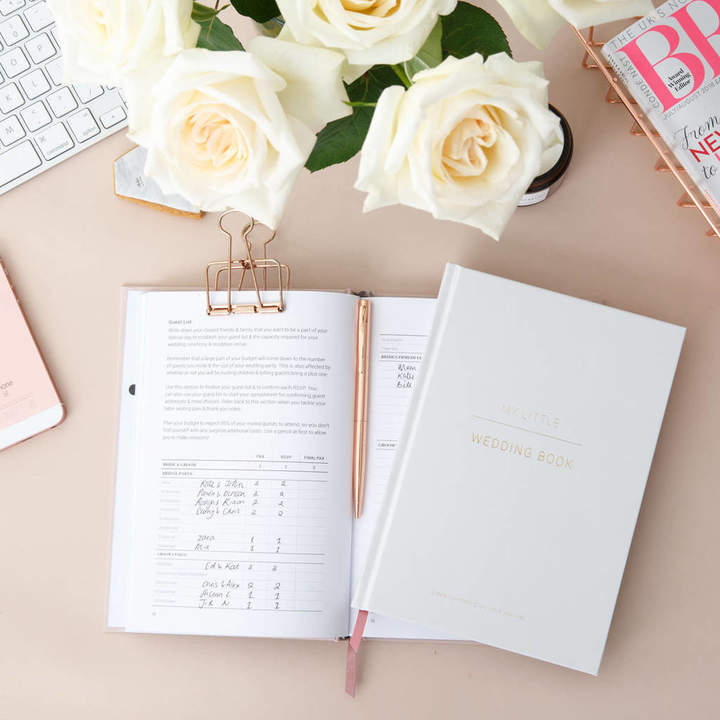 Pearl & Mason Wedding Planning Book Frost Grey