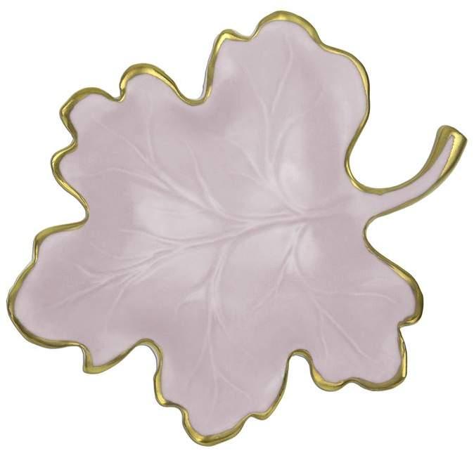 Villari Porcelain Fig Leaf Dish (15cm)