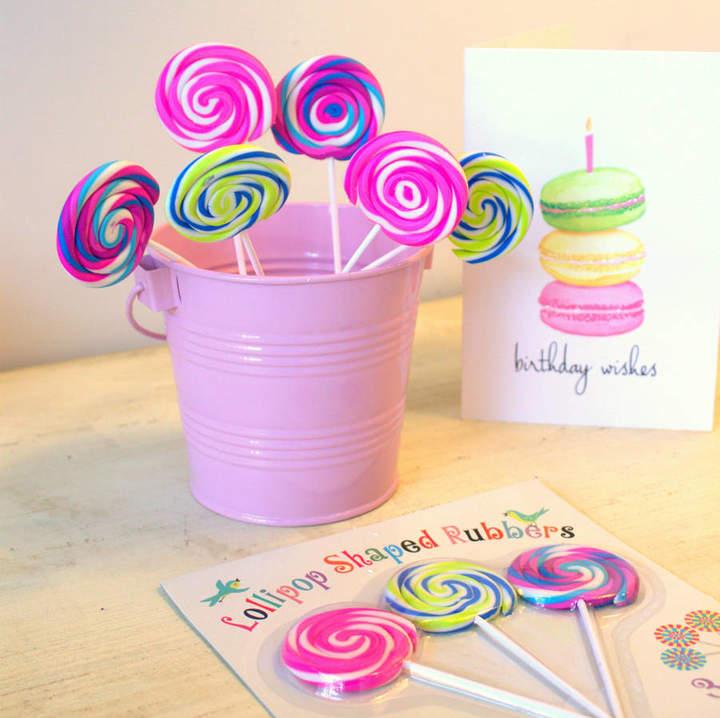 Little Ella James Vibrant Lollipop Rubber