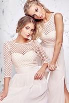 Carmen Pearl Top Prom Dress