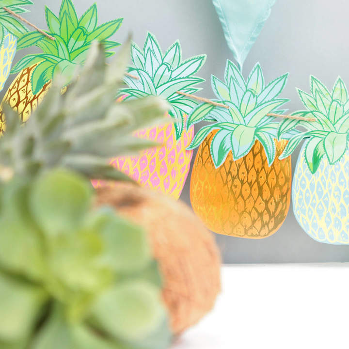 Postbox Party Tropical Pineapple Garland