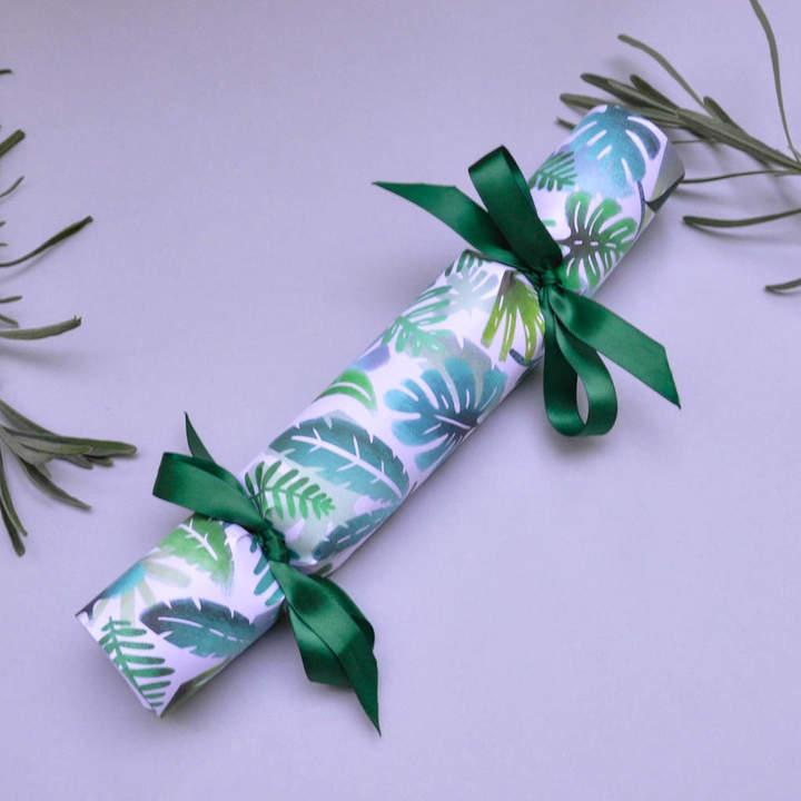 The Handmade Cracker Company Jungle Print Handmade Party Crackers. Box Of Six