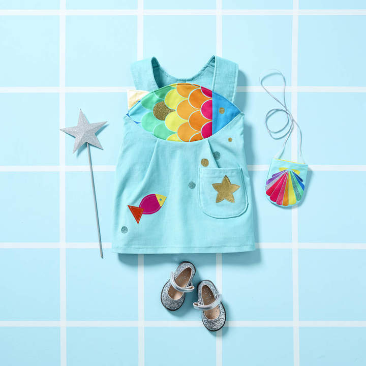 Wild Things Funky Little Dresses Rainbow Fish Dress Up Costume For Girls