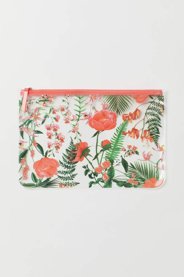 H&M - Transparent Pouch Bag - Pink
