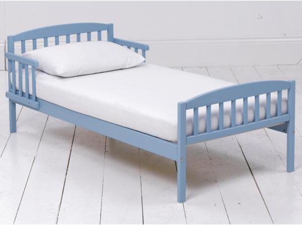 Ladybird Toddler Bed - Blue