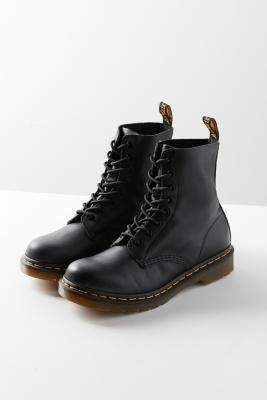 Dr. Martens Pascal 8-Eye Black Boots - black UK 3 at Urban Outfitters