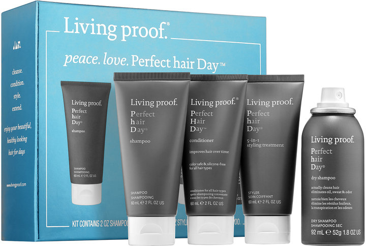 Living Proof Peace. Love. Perfect hair Day.