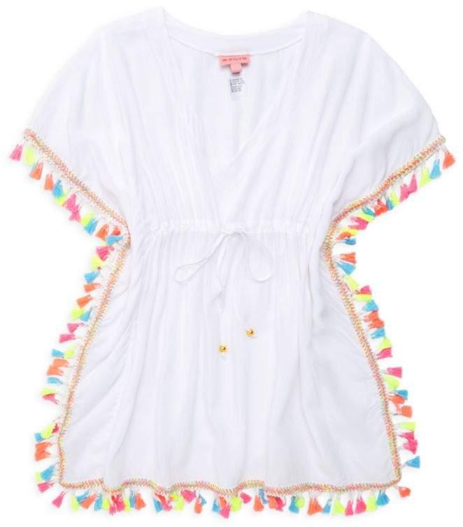 Pilyq Toddler's, Little Girl's & Girl's Tassel Poncho
