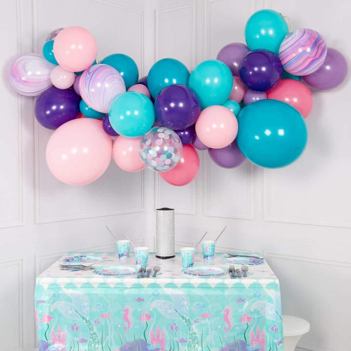 Bubblegum Balloons Mermaid Balloon Cloud Kit