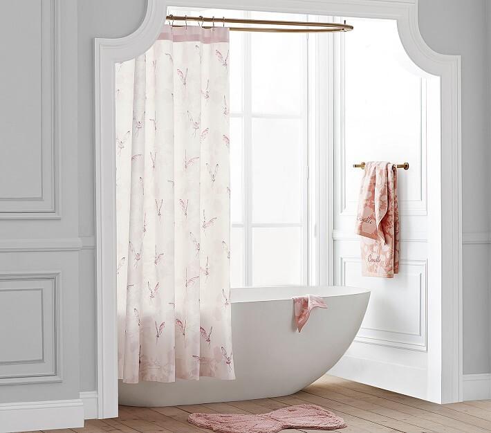 monique lhullier fairy shower curtain