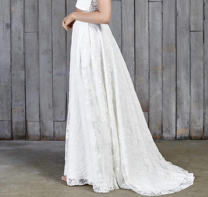 House of Ollichon Stevenson Lace Boho Bridal Skirt