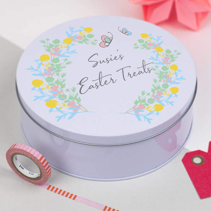 Delightful Living Personalised Easter Treat Tin