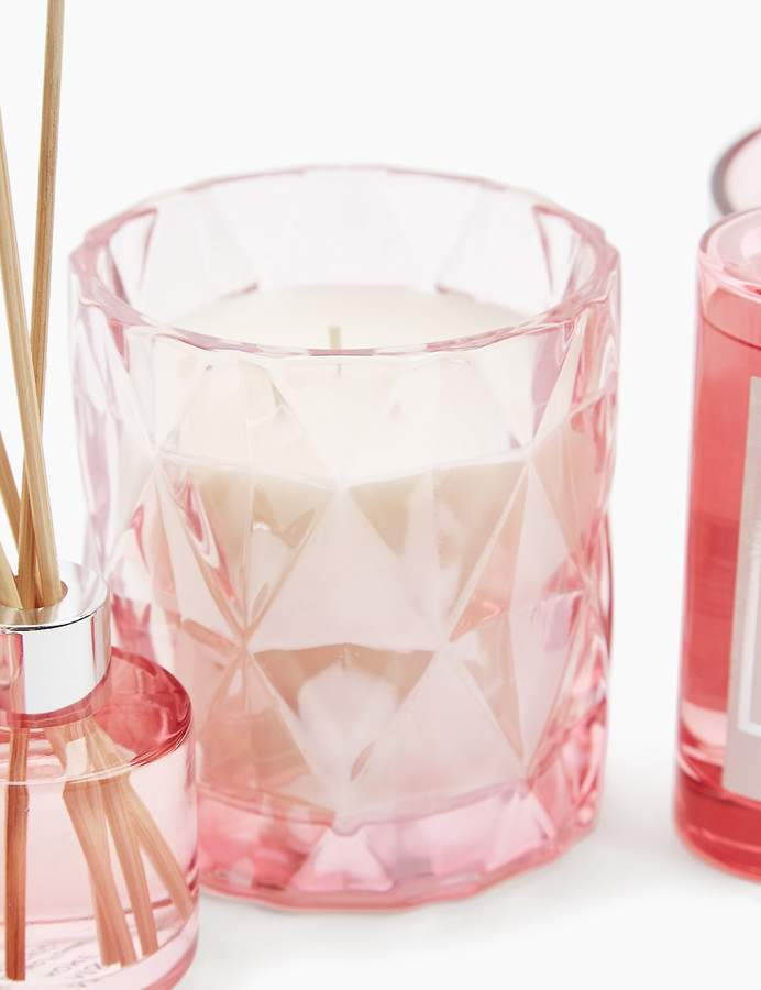 Marks and Spencer Rhubarb Lustre Wax Candle