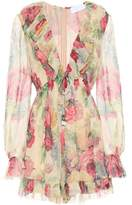 Zimmermann Melody Floating silk playsuit