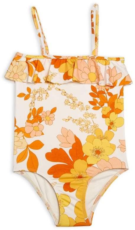 Zimmermann Kids Little Girl's & Girl's Primrose Frill Swimsuit