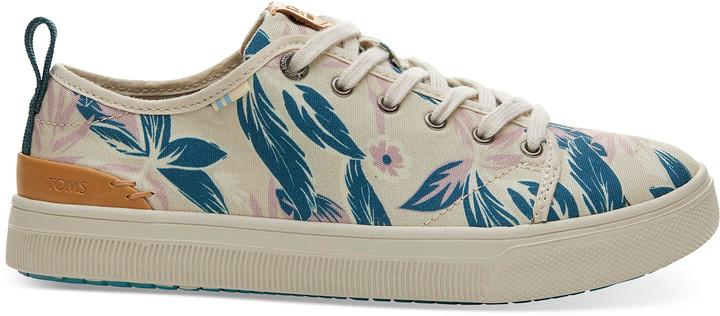 Lilac Floral Print TRVL LITE Low Women's Sneakers