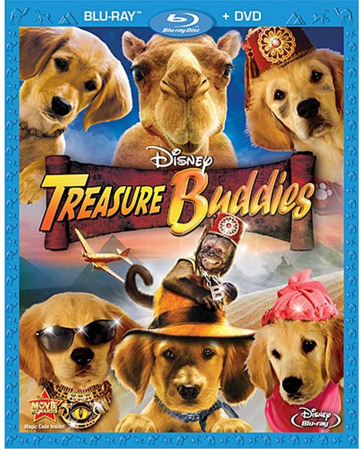 Treasure Buddies 2-Disc Combo Pack