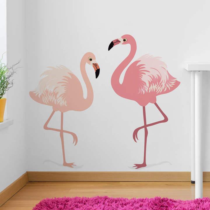 Nutmeg Wall Stickers Flamingos Wall Sticker