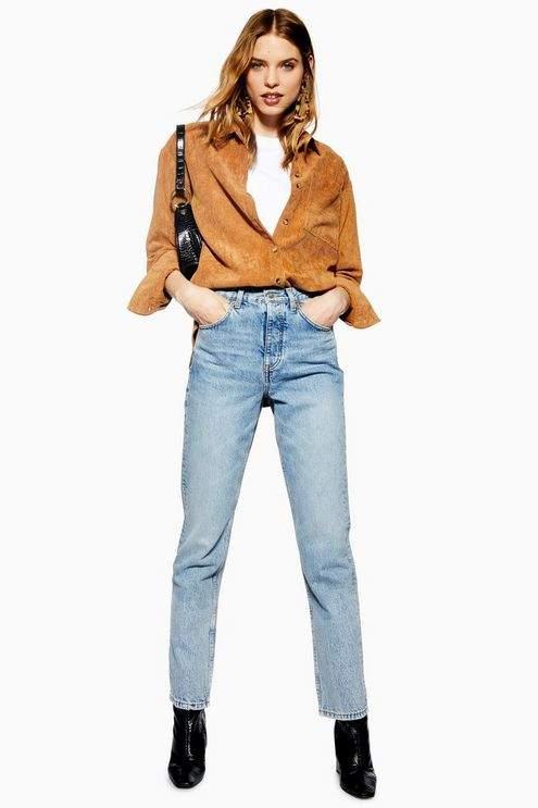 Topshop Womens Bleach Editor Jeans