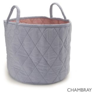 Chambray Storage Bag