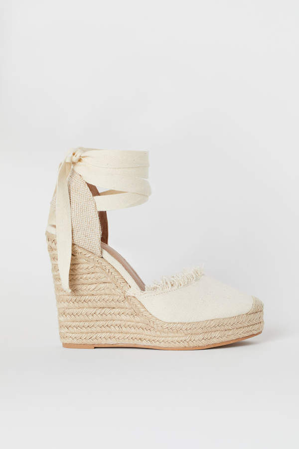 H&M Wedge-heel platform sandals
