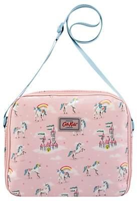 Cath Kidston Cath Kids Children's Unicorns And Rainbows Lunch Bag, Pink